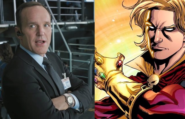 Adam Warlock y Coluson: ¿El encuentro más deseado en el Universo Marvel?