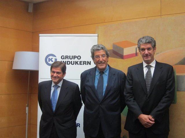 Raúl Díaz-Varela, José Luis Díaz-Varela, Daniel Díaz-Varela (Archivo)