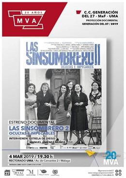 Málaga.- La segunda parte de 'Las Sinsombrero', que reivindica a mujeres intelec