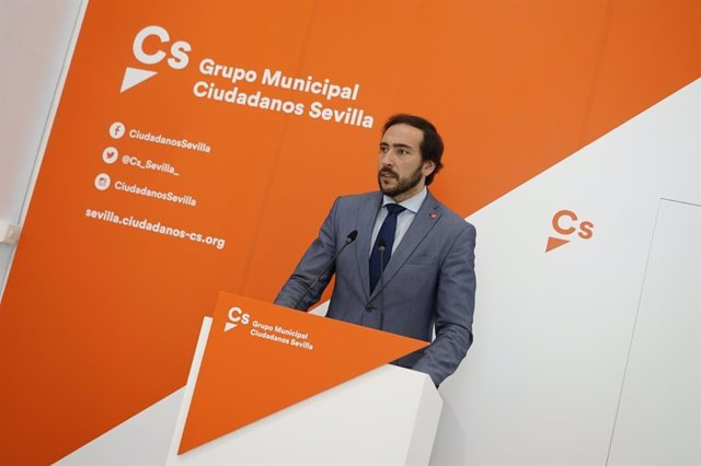 El concejal de Cs en el Ayuntamiento de Sevilla Francisco Moraga