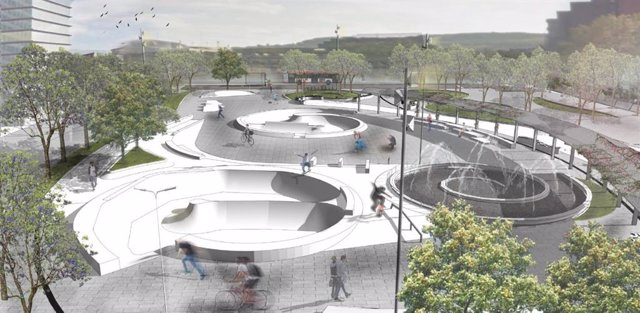 El barri de la Marina de Barcelona estrenarà un skate park a l'estiu