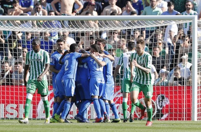El Getafe defiende su sueño 'Champions' ante un Betis tocado