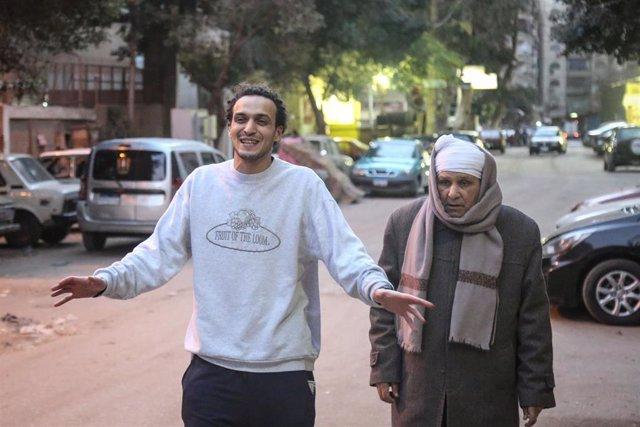 Shawkan tras su salida de prisión