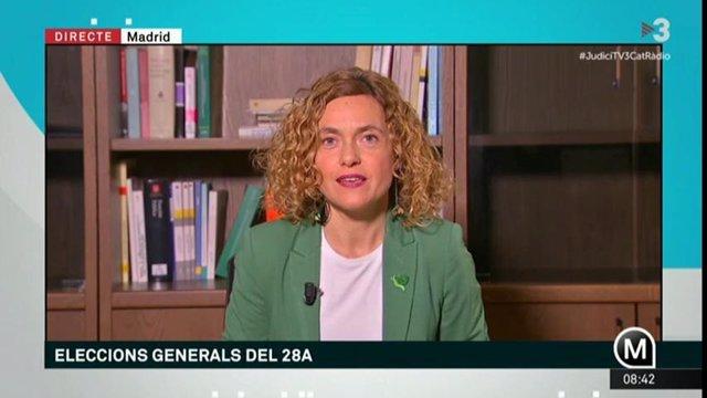 Meritxell Batet en TV3