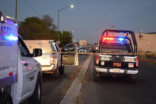 Policía forense México