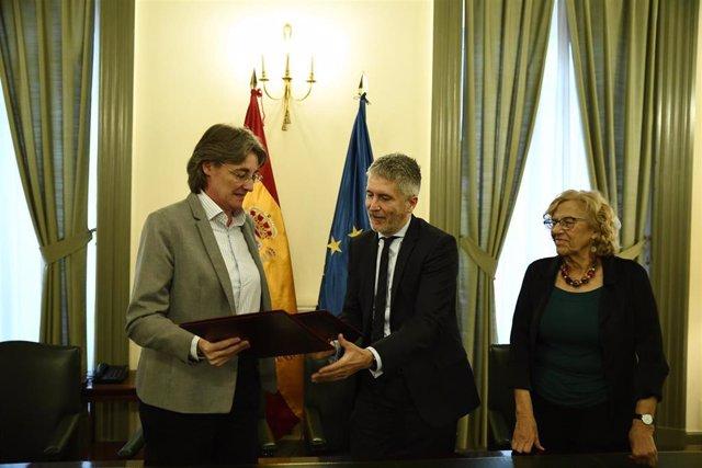 El ayuntamiento de Madrid firma con el Gobierno un convenio para mejorar la inse