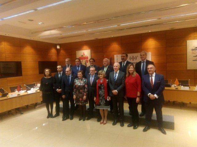 Consejeros de Sanidad y MInistra de Sanidad, María Luisa Carcedo,  en el Consejo
