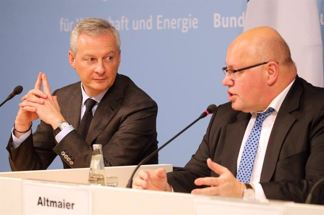 German Economy Minister meets French counterpart in Berlin