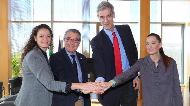 Firmado el protocolo para la Copa del Rey Málaga 2020