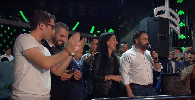Abascal confirma que Rocío Monasterio será candidata de Vox a la Alcaldía o la C
