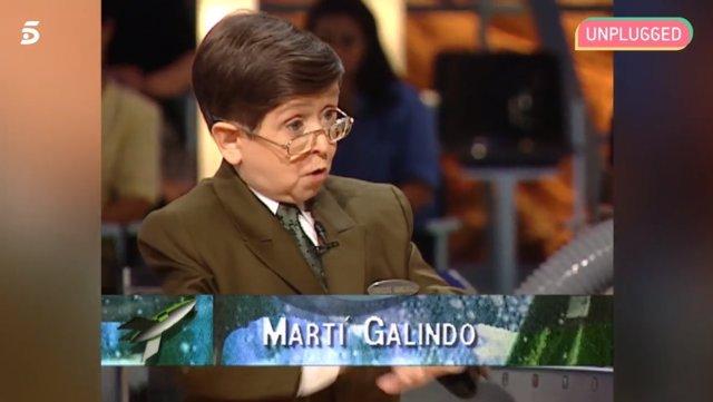 Martí Galindo en Crónicas Marcianas