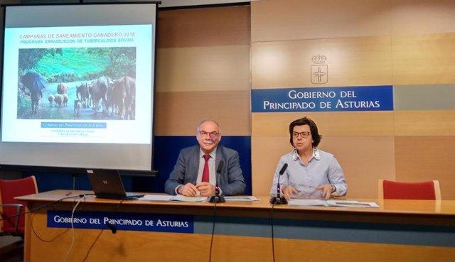 Presentación cifras de prevalencia de tuberculosis bovina en Asturias