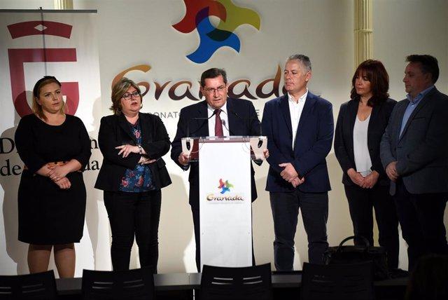 """Entrena: """"Hemos Recuperado El Protagonismo De La Diputación"""""""
