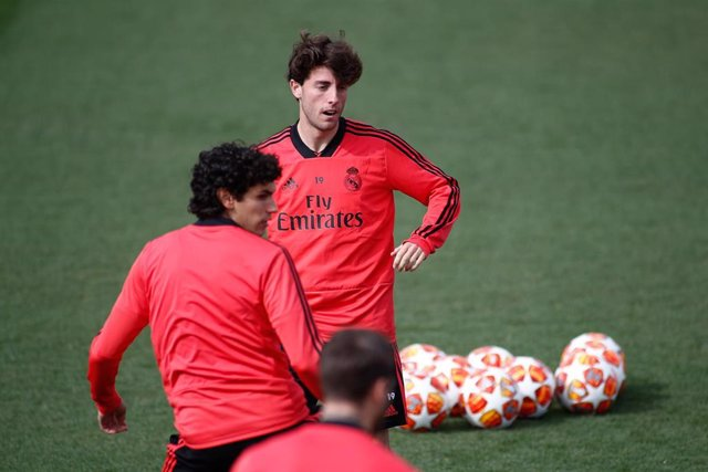 Soccer: Champions League - Real Madrid training day