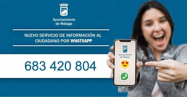 Málaga.- El Ayuntamiento pone en marcha un nuevo servicio de información a la ci