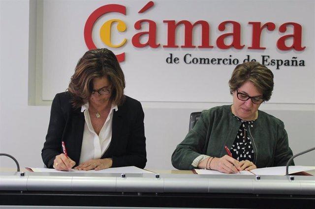 Fundación Telefónica y la Cámara de Comercio se unen para impulsar el empleo dig