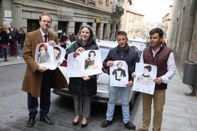 Un total de 250 taxis de la región llevarán los vinilos de la campaña 'Mujeres I