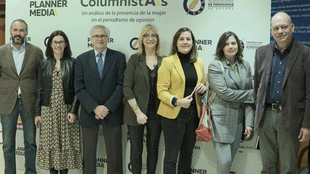 La presencia de la mujer en el periodismo de opinión en España se mantiene en el