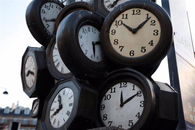 Relojes en París