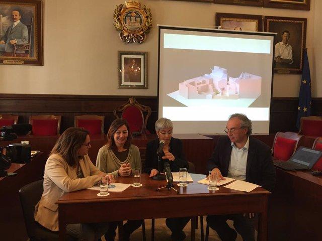 Signat el conveni de 7,9 milions per al nou conservatori de Menorca