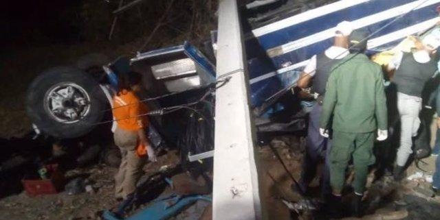 Un accidente de tráfico en República Dominicana deja al menos 5 muertos y 50 her