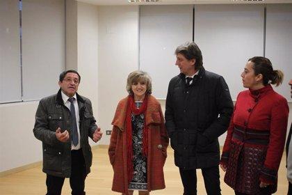 Carcedo anuncia que el Centro de Referencia de atención sociosanitaira a dependientes abrirá en Soria antes de verano