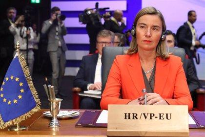 Mogherini y la presidenta de la Asamblea General de la ONU abordan la crisis venezolana