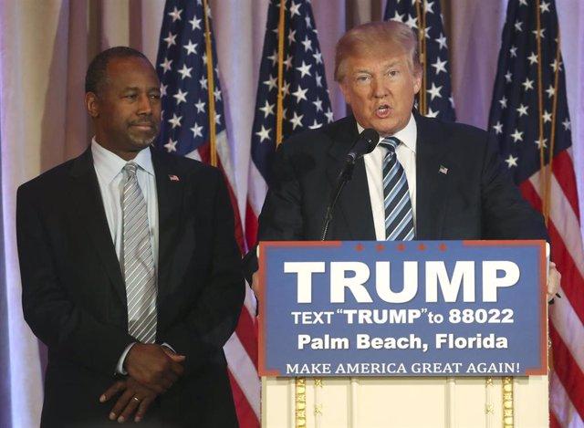 Ben Carson Donald Trump