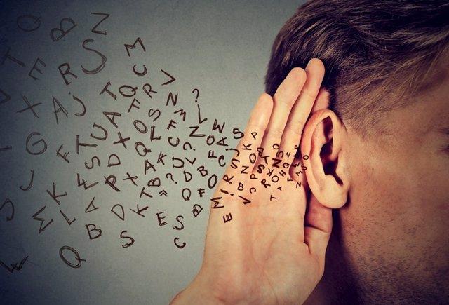 Escuchar, conversación, oir