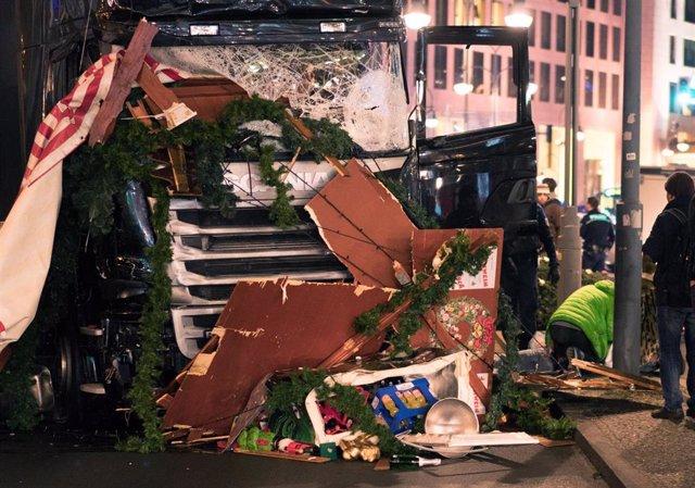Atentado contra un mercado navideño en Berlín en 2016