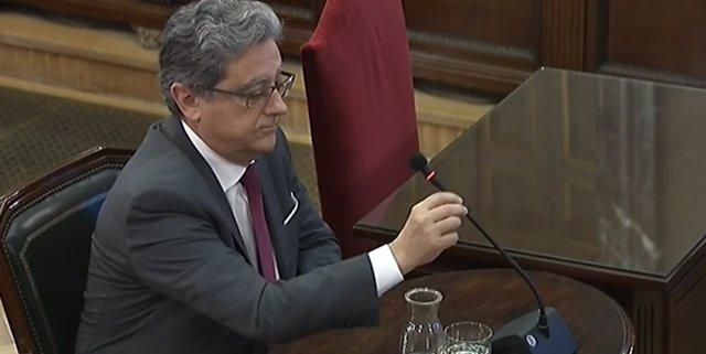 Declaració en el judici pel procés d'Enric Millo, exdelegat del Govern central a