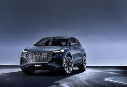 Audi presenta en Ginebra el Q4 e-tron concept, que llegará en 2020 con 450 kilómetros de autonomía