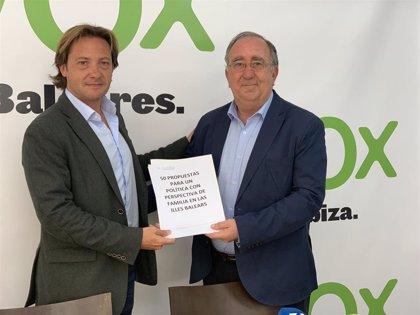 Vox promete la creación de una Conselleria de Familia en Baleares