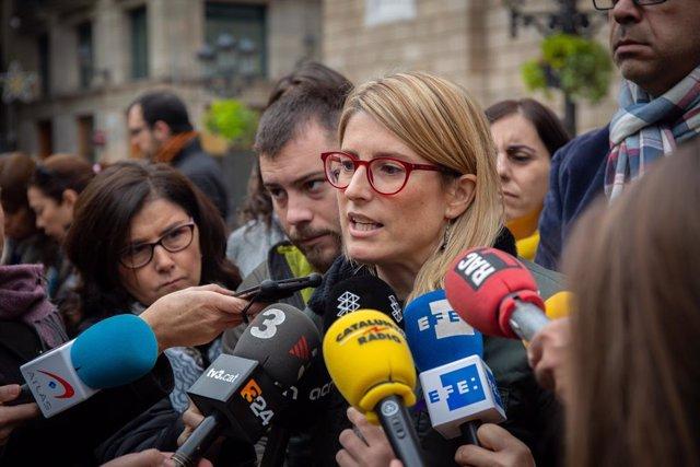 La consellera de Presidència de la Generalitat, Elsa Artadi, en una imatge d'arx