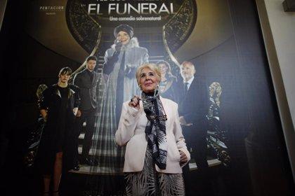 La actriz Concha Velasco vuelve al Teatro Lope de Vega de Sevilla con la obra 'El funeral'