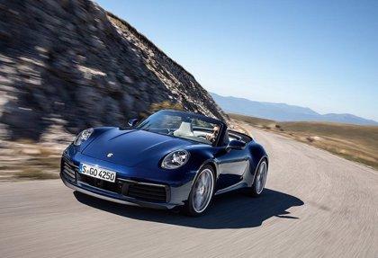 Porsche presenta el 911 Cabriolet, el 718 T y el Macan S en el Salón de Ginebra