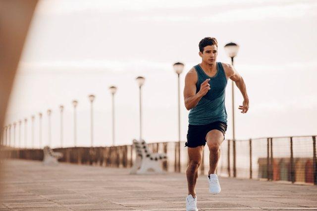 Correr, ejercicio intenso