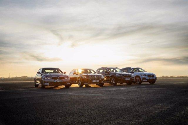 BMW lanzará más de diez nuevos modelos electrificados hasta finales del año que