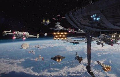 ¿Son estas las nuevas naves de Star Wars 9?