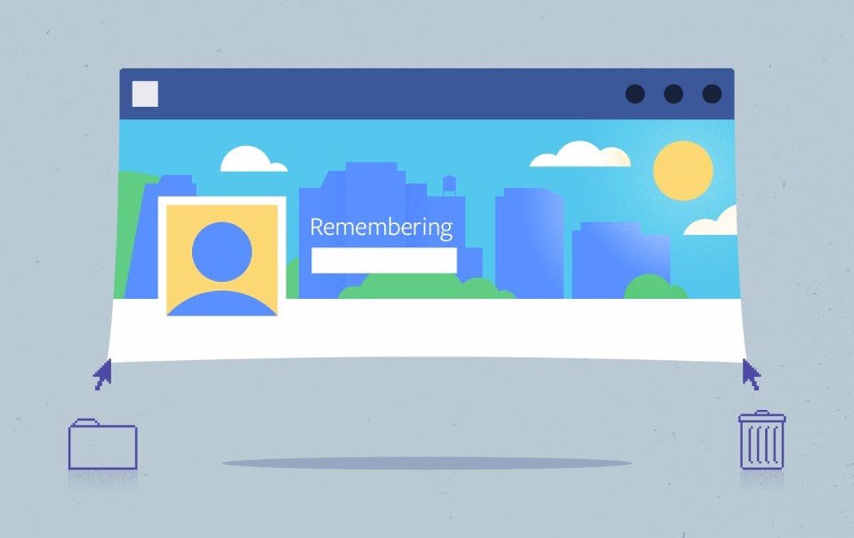 Facebook introduce la sección Homenaje, para publicar en cuentas conmemorativas