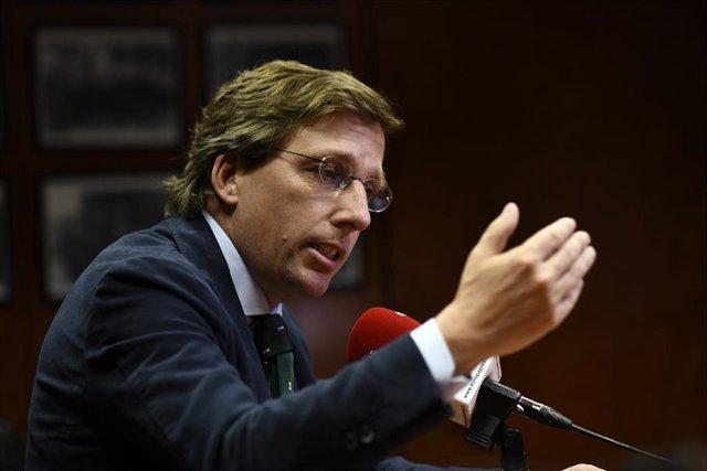 Entrevista de Europa Press a José Luis Martínez-Almeida