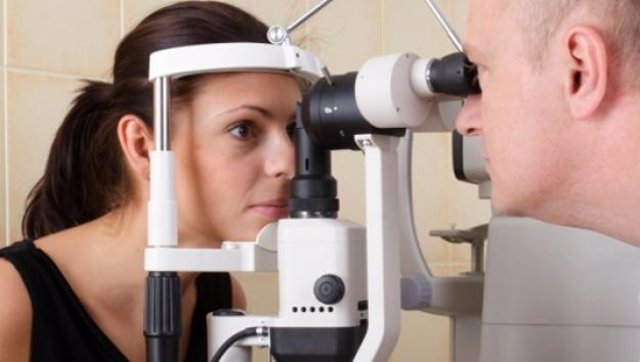 Prueba de glaucoma ocular