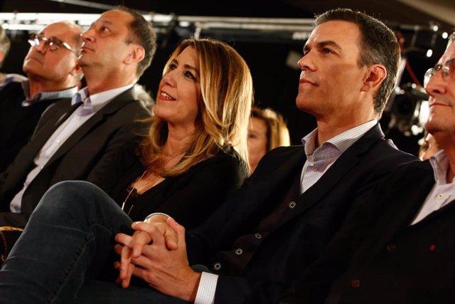 Acto público del PSOE en Granada