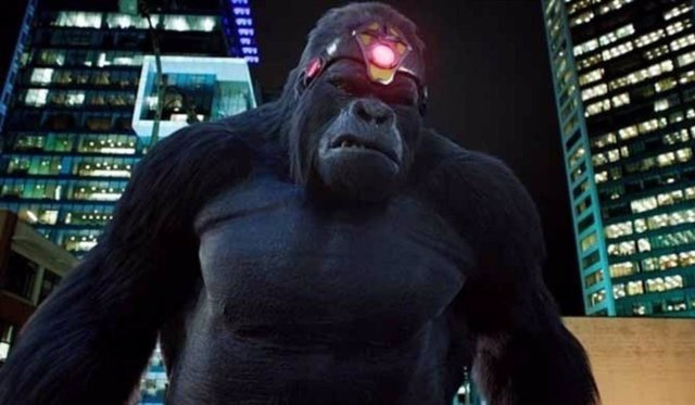 The Flash: Más imágenes del tremendo combate entre Gorilla Grodd y King Shark
