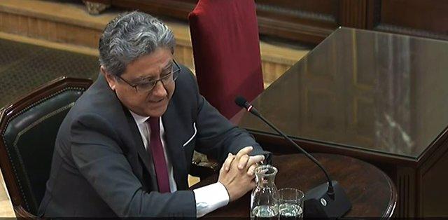 Enric Millo al Tribunal Suprem