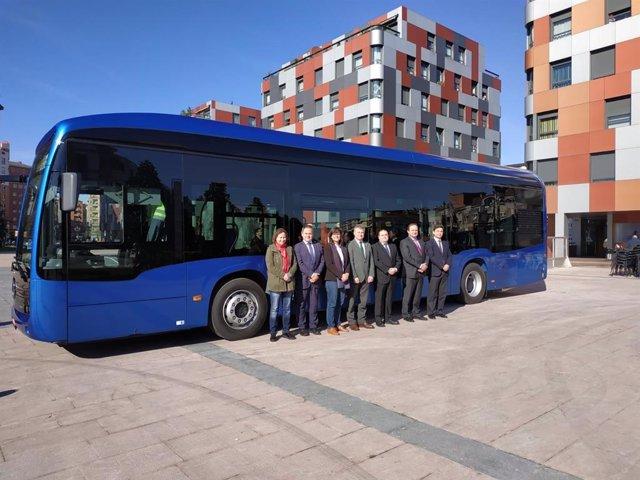 ALSA rueda en Oviedo el primer autobús urbano totalmente eléctrico