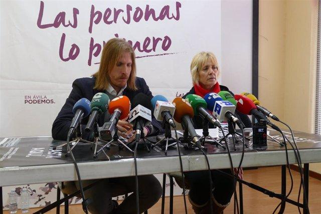 La candidata de Podemos en Ávila asegura que la polémica de su caso es fruto de