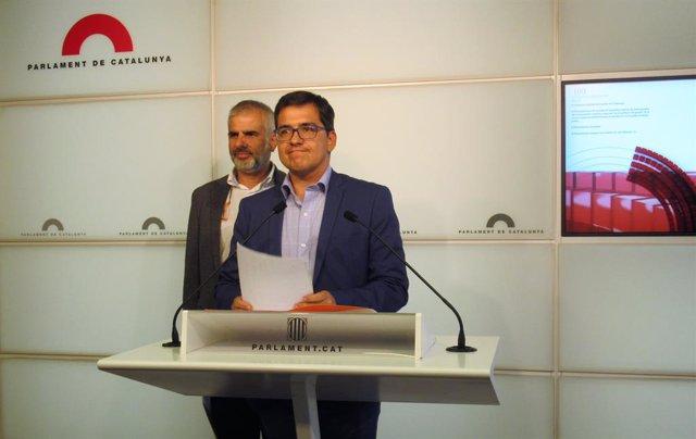 Carlos Carrizosa i José María Espejo-Saavedra (Cs) en una foto d'arxiu