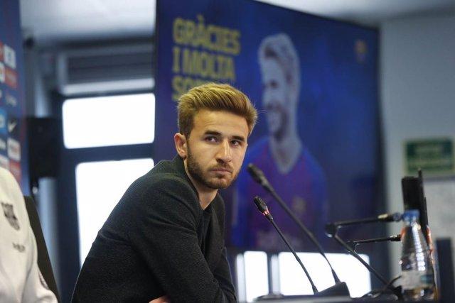 """Fútbol.- Sergi Samper: """"Del Barça solo puedo hablar maravillas"""""""