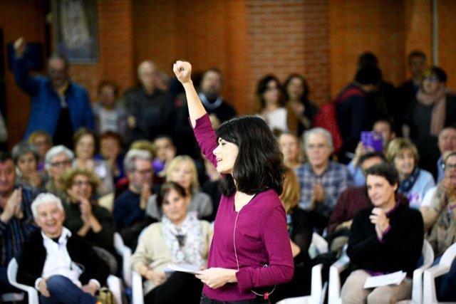 Candidata de Podemos a la Comunidad de Madrid, Isabel Serra
